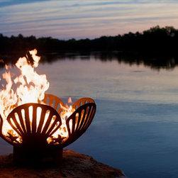 Fire Pit Art Barefoot Beach Wood Burning Fire Pit -