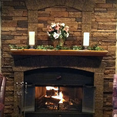 Rustic Fireplaces by FauxPanels®