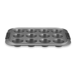 Anolon - Anolon Advanced Non-Stick Bakeware 12-Cup Muffin Pan - This versatile muffin pan is not only perfect for cupcakes, but can also be used to create mini pot pies, French toast cups and more.