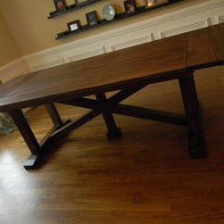 North State Table - In the official song of the State of North Carolina, the good Old North State is praised as a happy region where plenty and peace, love and joy smile before us. We're not sure about all that, but we can promise your dining area will be a happy region with one of our handsome North State Tables in place.