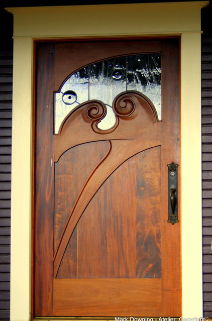 Traditional Front Doors by Mark Downing