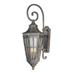Maxim Lighting - Maxim Lighting 40155CDSE Beacon Hill VX 3-Light Outdoor Wall Lantern In Sienna - Features