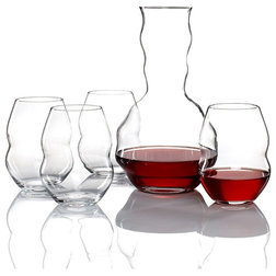 Contemporary Wine Glasses by Masins Furniture