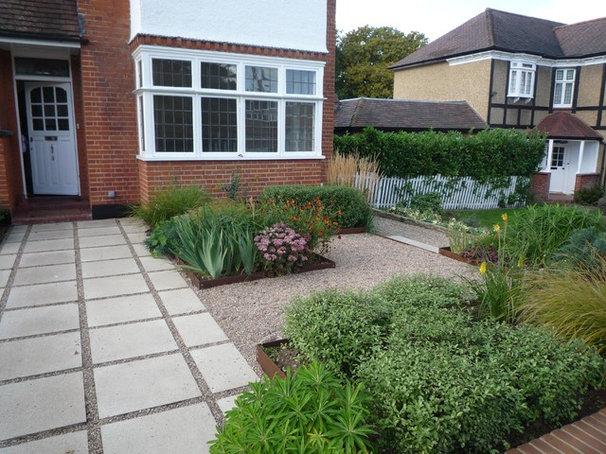 garden design  front garden designs that sneak in parking space