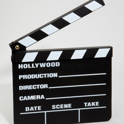 Hollywood Slate Board - This is a fun novelty Hollywood slate board.