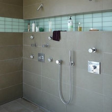 modern bathroom tile by John
