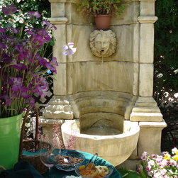 Wall Fountain for the Patio, Backyard and Frontyard - Image provided by 'Ancient Surfaces'
