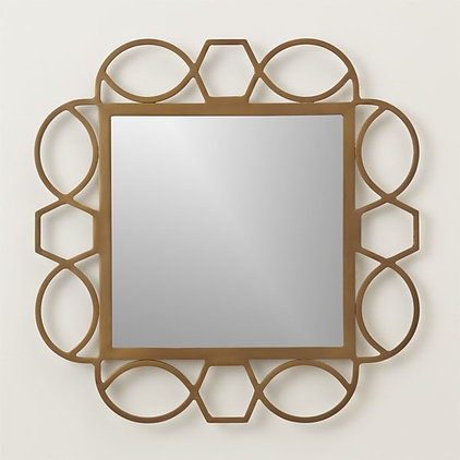 Transitional Wall Mirrors by Crate&Barrel