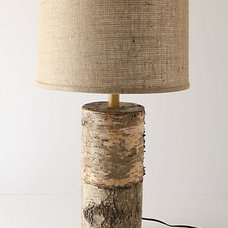 Rustic Table Lamps by Anthropologie
