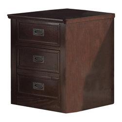 Steve Silver Furniture - Steve Silver Teton File Cabinet in Merlot - File Cabinet in Merlot ...