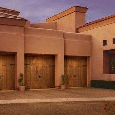 Mediterranean Garage Doors And Openers by Hollywood Crawford Door Company