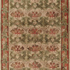 Nejad Rugs American Home Classic Rug Collection - Arts & Crafts area rug - Nejad T008GOSA. The American Home Classic Rugs are a magnificent collection of expertly handmade rugs featuring gorgeous traditional and transitional designs at remarkable prices. The dense pile is Hand-Tufted of 100% Wool with some styles containing beautiful Silk Highlights. Imported from India and China.