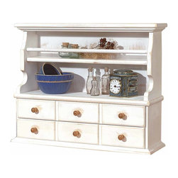 """Renovators Supply - Shelves Country Pine Shelf Organizer Weather White 26 3/8"""" W 