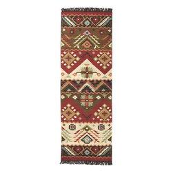 "Surya - Surya Jewel Tone 3'6 x 5'6 Southwest Inspired Rug, Multicolored (JT8-3656) - Surya JT8-3656 Jewel Tone 3'6"" x 5'6"" Southwest Inspired Rug, Multicolored"