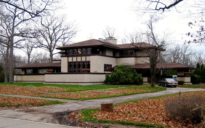 Houzz Tour: A Sincere Nod to Frank Lloyd Wright