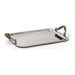 #N/A - Andromede Tray - Andromede Tray. Style: Modern, Width: 19, Depth: 13.5, Height: 3