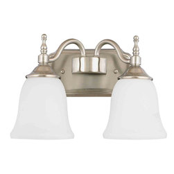 Quoizel Lighting - Quoizel TT8742 Tritan 2 Light Vanity - 2, 100W A19 Medium