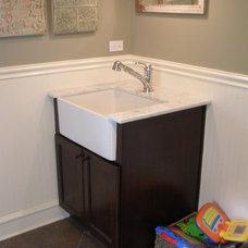 Bathroom by Amish Custom Kitchens