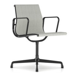 Herman Miller - Eames Aluminum Outdoor Side Chair - Lean and modern. Sleek and sophisticated. The Eames name means beautifully functional. How would you like to own a piece of art? Elevate your patio furniture. Good design stands the test of time.