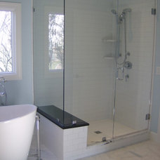 Contemporary Showers by Guardian InGlass