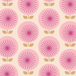 Chasing Paper - Sunburst Pink S002311 Wallpaper Panel - Sunburst Pink S002311 Wallpaper Panel is Self-adhesive.Collection name: Self Adhesive Wallpaper PanelSize of each panel is 2 feet by 4 feet.This wallpaper panel with sunburst pattern in pink tones gives a bold and modern look to your walls. Also, the wallpaper panel is removable and easy to install.