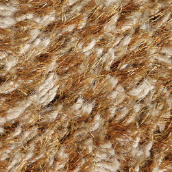 "Loloi - Loloi Boyd BO-01 (Mocha) 3'6"" x 5'6"" Rug - A hand made faux fur shag that is constructed of wool with touches of polyester that add a wonderful sheen to these soft and luxurious rugs."