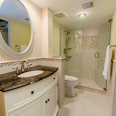 Traditional Bathroom by Nichole Claprood