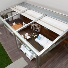 Contemporary Gazebos by The Outerspaces Group