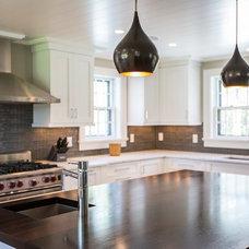 Transitional Kitchen by Anne Becker Design