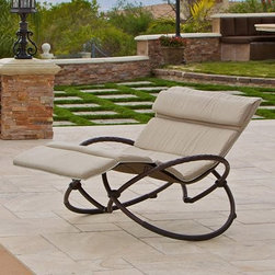 Camo zero gravity lounger outdoor furniture find patio for Camo chaise lounge