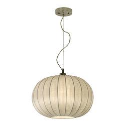 Trend Lighting - Shanghai Medium Oval Pendant - -120 Volts