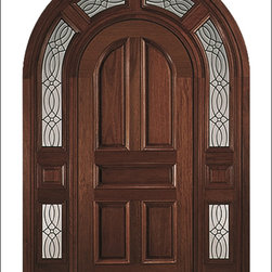 Carved and Mansion Entry Doors Model # 1000-A - Our Carved and Mansion doors are hand carved by master craftsman.  They will certainly add to the wow factor of any entrance exterior or interior.  The doors are Mahogany and can be stained and finished in a variety of colors to complement your homes beauty.  You may also like our International collection which is inspired by world design.