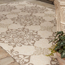 traditional outdoor rugs by Horchow