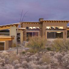 Contemporary Exterior by Christian Gladu Design