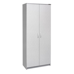 Black & Decker - Black & Decker Garage and Workshop 2-door Storage Cabinet - Keep your garage or workshop organized in style with this two-door storage cabinet. The storage cabinet is quality constructed from engineered wood with a greyside laminate finish and features four study shelves and metal handles and hinges.