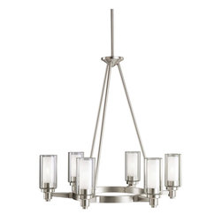 Kichler Lighting - Kichler 2344 Transitional 6 Light Up Lighting Chandelier - Becoming the leader in the lighting fixture industry is hard. Staying on top is even harder. Kichler Lighting is a four-time winner of the Arts Award as Lighting Manufacturer of the Year; the highest accolade our lighting industry can give.