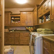 Traditional Laundry Room by Kitchens by Wedgewood