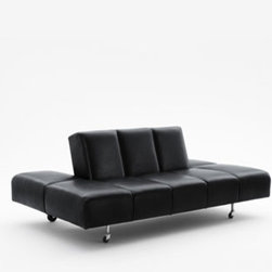 Wittmann - Wittmann Party Lounge - The term Party Lounge, registered as a patent by Friedrich Kiesler in 1936, is something of a declaration of intent, as the sofa has room for up to six people - enough for a party. Manufactured by Wittmann in Austria.Price includes shipping to theUSA.Designed in 1936.