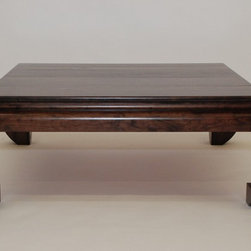 Ming by Belak Coffee Table - This coffee table is our new design Ming inspired by the original Ming Table we have in the collection. The profile and leg design is slightly modified to fit into more traditional Asian style of the Ming trend.