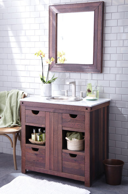 Traditional Bathroom Vanities And Sink Consoles by Native Trails