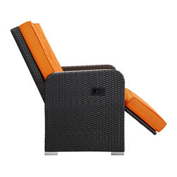 Commence Patio Armchair Recliner EEI-985 Espresso Orange -