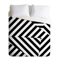 DENY Designs - Three Of The Possessed Dazzle Uptown Duvet Cover - Turn your basic, boring down comforter into the super stylish focal point of your bedroom. Our Luxe Duvet is made from a heavy-weight luxurious woven polyester with a 50% cotton/50% polyester cream bottom. It also includes a hidden zipper with interior corner ties to secure your comforter. it's comfy, fade-resistant, and custom printed for each and every customer.