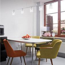 Contemporary Dining Room by Littman Bros Lighting