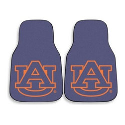 Sports Licensing Solutions - University of Auburn Carpet Car Mat (Set of 2) - Show off your college pride with these University of Auburn two-piece printed carpet car mat set. Whether you are a student, alumnus or proud parent, these mats show your support for the team.
