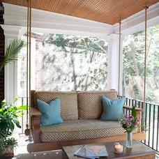 Traditional Porch by Lisa Britt Designs