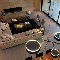 Contemporary Living Room by LeichtUSA