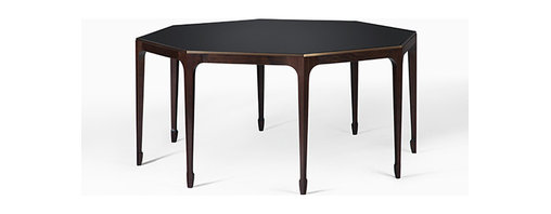 OCTAGONAL DINING TABLE by Holly Hunt - BRONZE
