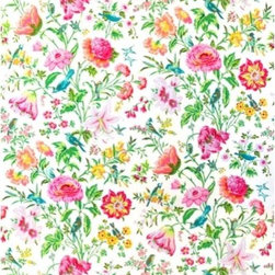 Schumacher - Avondale Floral Fabric, Meadow - 2 Yard Minimum Order (Price is per yard)