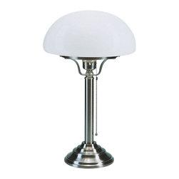 Berlin Brass lamps - Berlin Brass lamps Z1-100opN Table Lamp - The Z1-100opN table lamp by Berlin Brass Lamps is a work of art.