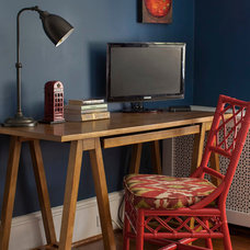 Traditional Home Office by Design Manifest